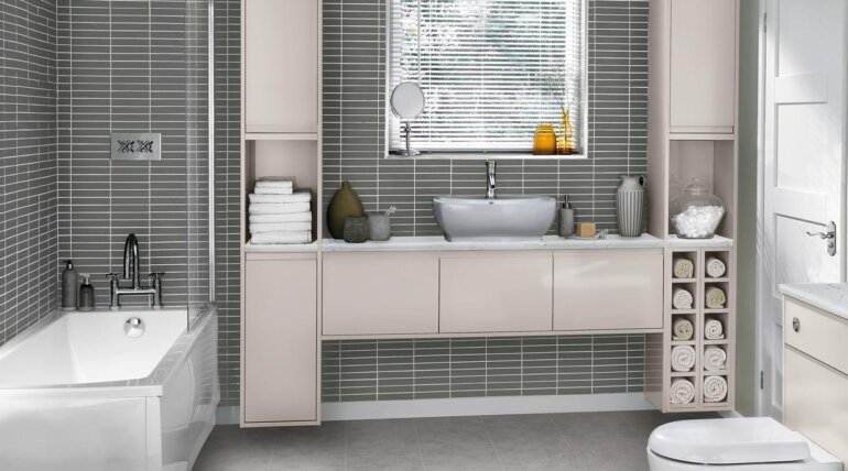 Fitted Bathroom Grey