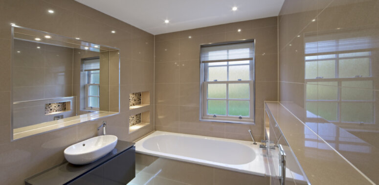 Professionally Fitted Bathrooms